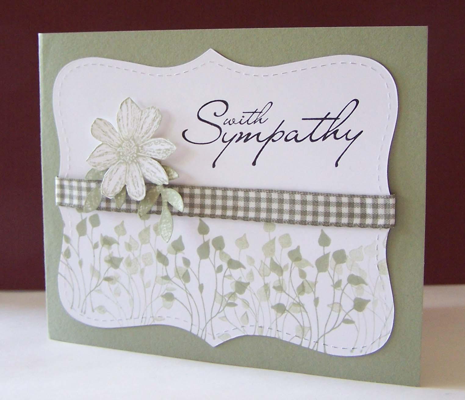Word 2007 Sympathy Card