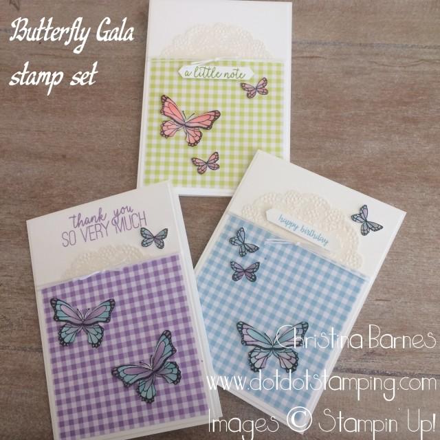 Butterfly Gala Set 1