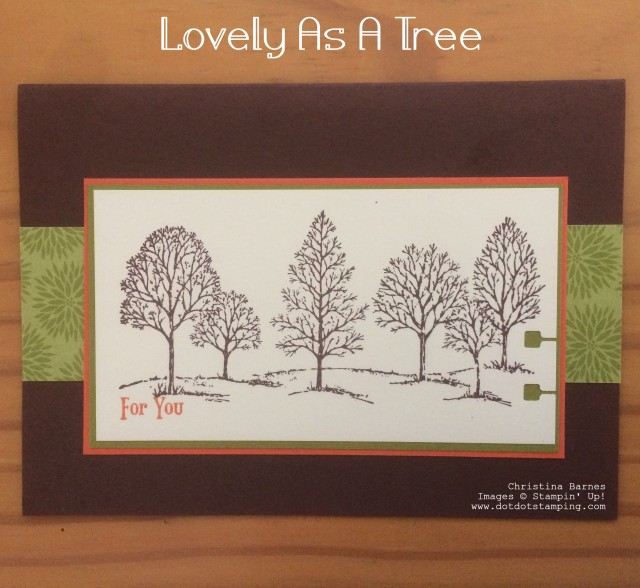 Lovely As A Tree 1