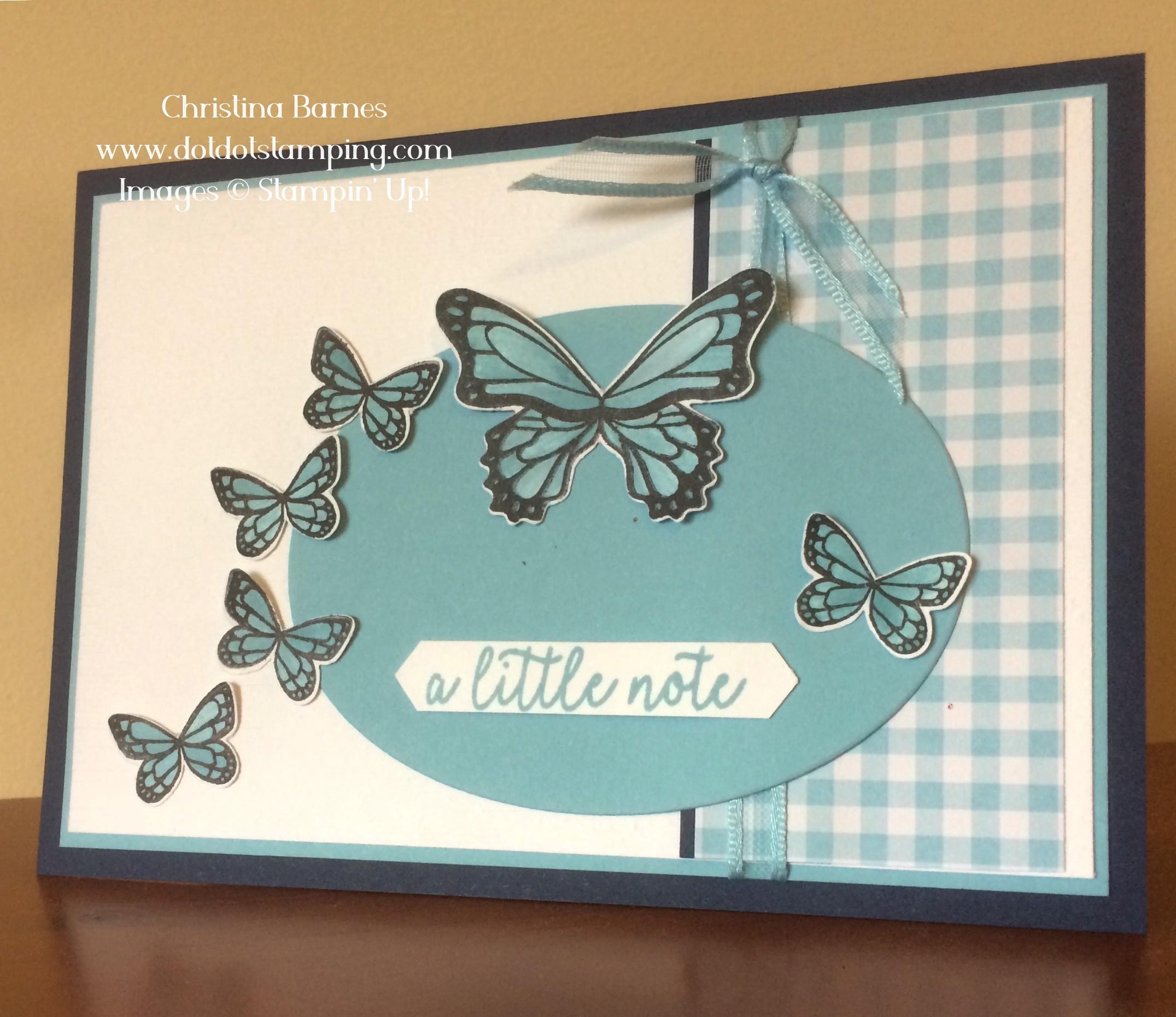 Monochromatic Butteflies