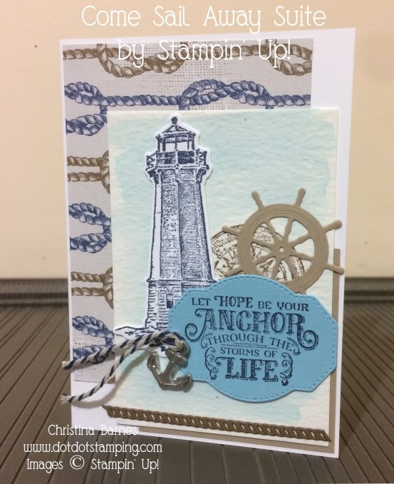 Come Sail Away Card 1