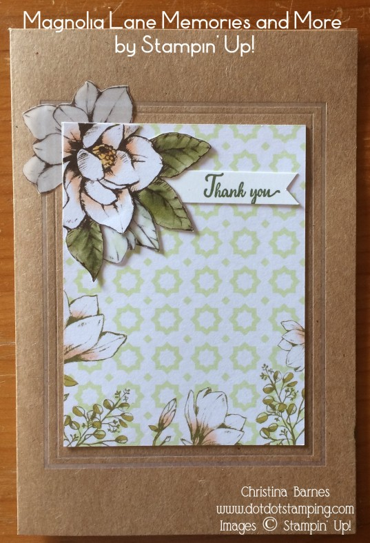 Magnolia Lane MM Card 1