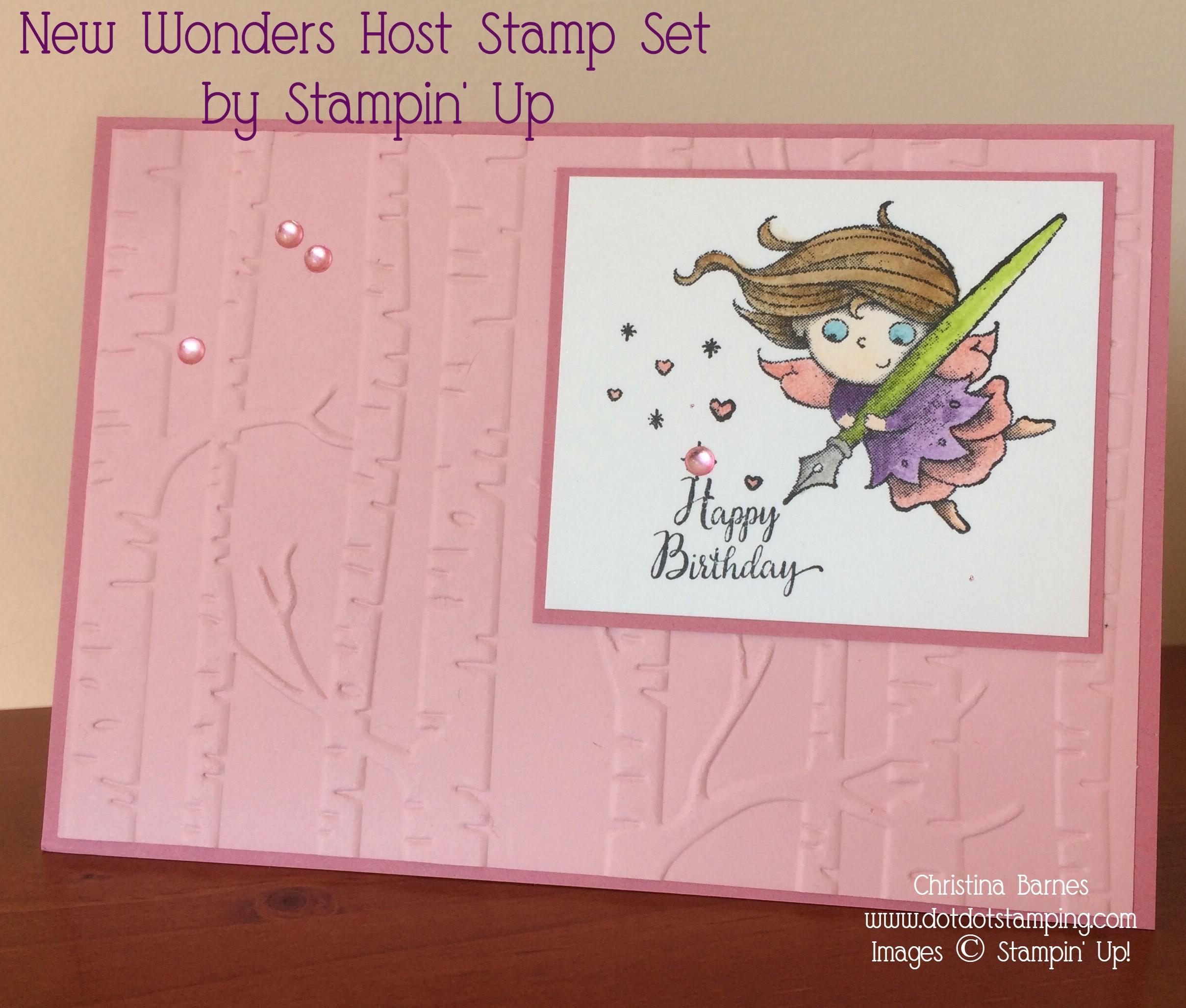 New Wonders Card 1