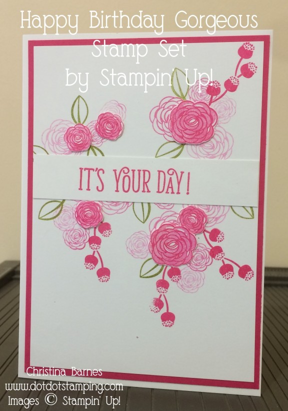 Pink HB Gorgeous Card
