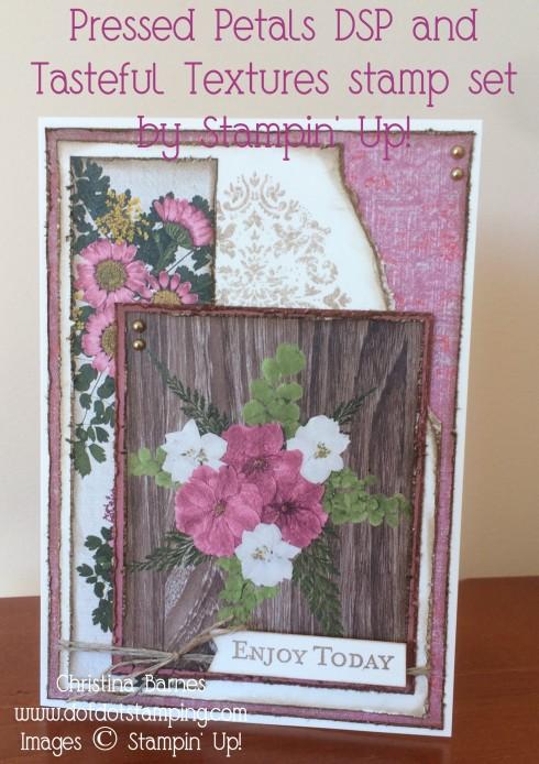 Pressed Petals DSP Card 1