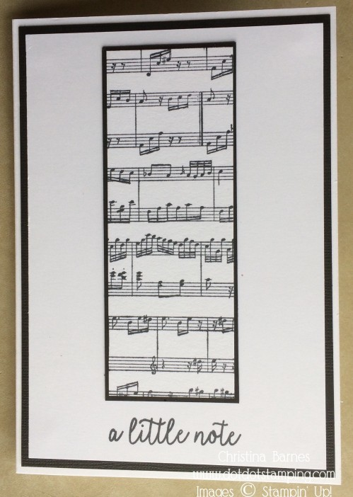 Sheet Music Card 1