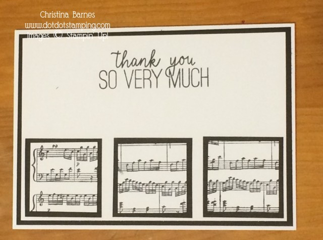 Sheet Music Card 4