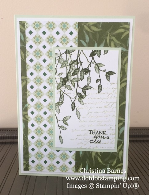 Green Very Versailles Card 2
