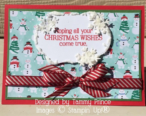 Tammy Prince Christmas Card 2019 Holiday Catalogue Let it Snow