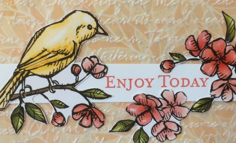 Bird Ballad DSP by Christina Barnes Dot Dot Stamping Stampin' Up!