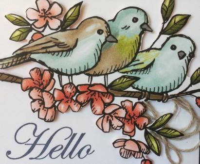 Bird Ballad DSP Christina Barnes Dot Dot Stamping