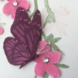 Butterfly Wishes Card Christina Barnes Dot Dot Stamping 2019 Stampin' Up!