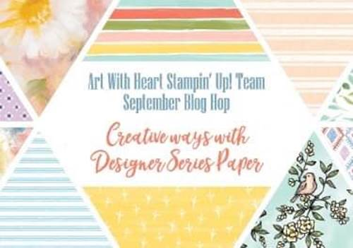 Creative Ways to Use Designer Series Paper Christina Barnes Dot Dot Stamping 2019