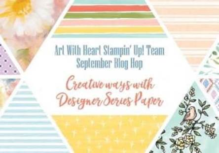 Creative Ways to Use Designer Series Paper Christina Barnes Dot Dot Stamping 2019