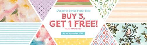 DSP Sept 2019 Stampin Up Promotion Christina Barnes Dot Dot Stamping
