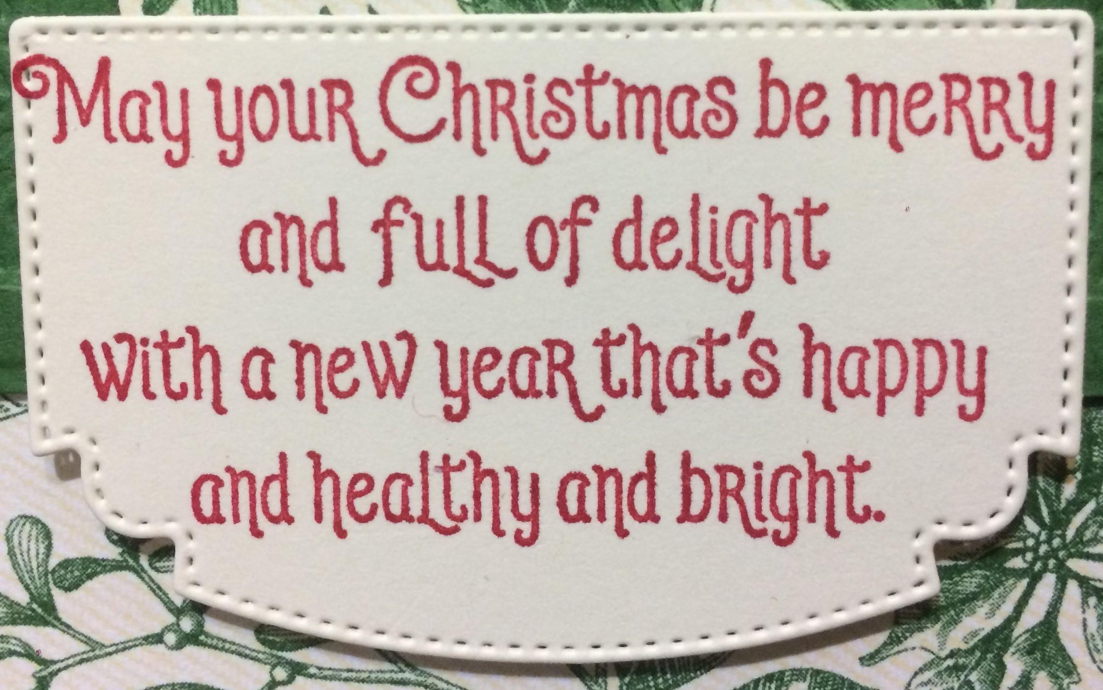 #Elfie stamp set sentiment Christmas Card 2019 Holiday Catalogue Stampin' Up! Christina Barnes Dot Dot Stamping