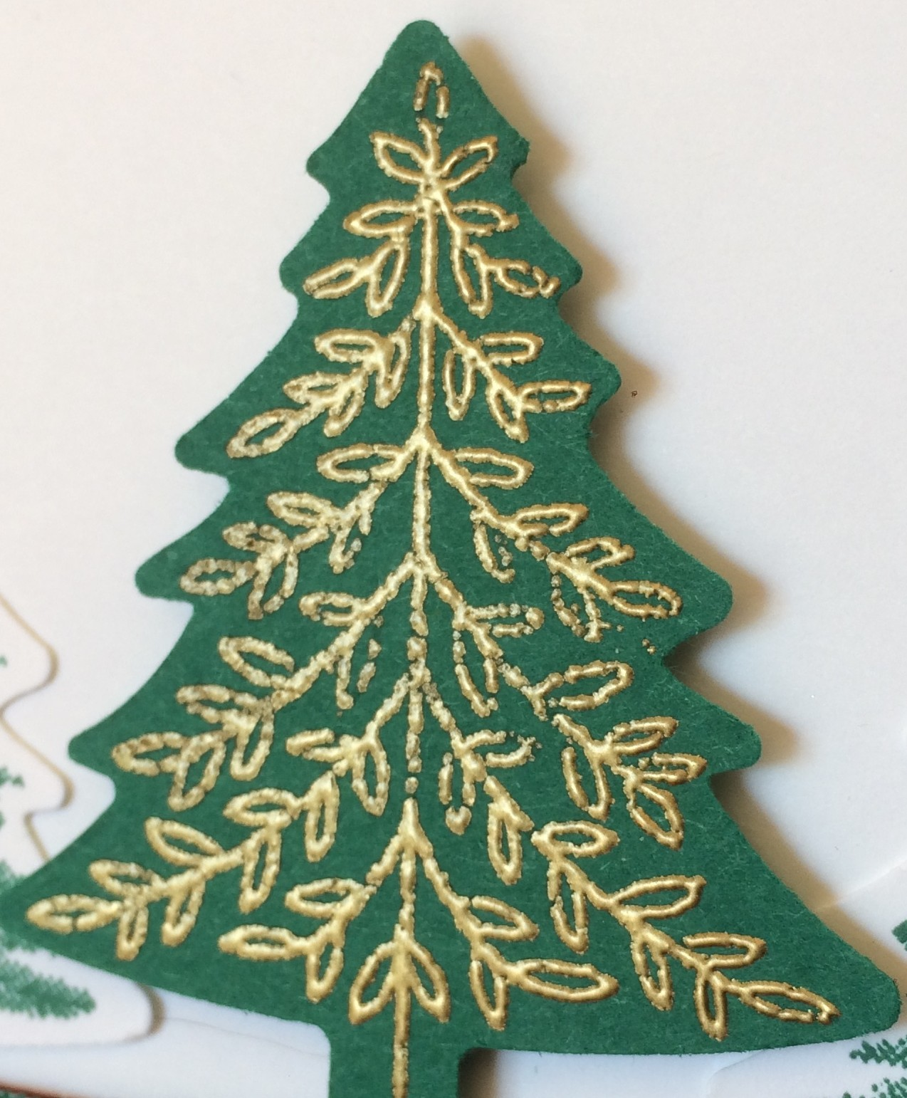 Wrapped in Plaid Suite Pine Tree Punch Perfectly Plaid Stampin Up Embossed Christmas Tree 2019 Holiday Catalogue Christina Barnes Dot Dot Stamping 2