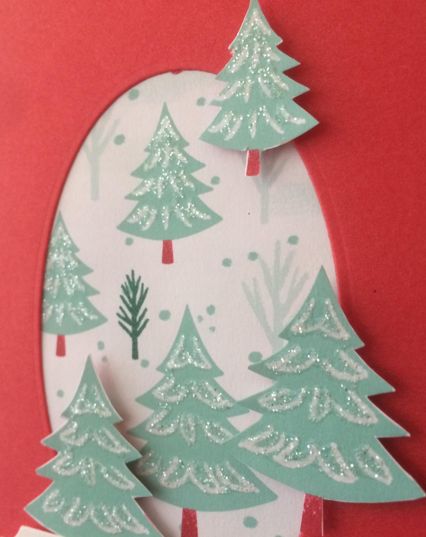 Let it Snow Christmas Trees Christina Barnes Dot Dot Stamping 2019 Holiday Catalogue Stampin' Up!