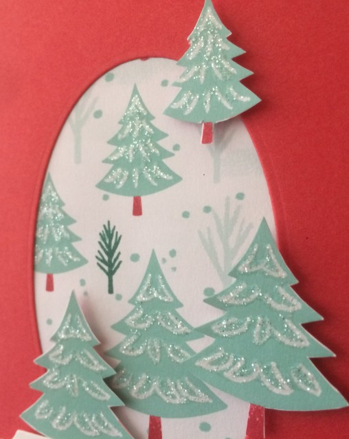 Let it Snow Christmas Trees Christina Barnes Dot Dot Stamping 2019 Holiday Catalogue Stampin' Up!