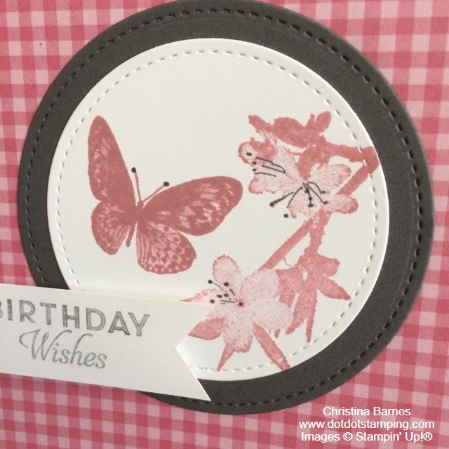 Colour Challenge May 2020 Butterfly Wishes Stampin' Up! Christina Barnes Dot Dot Stamping2