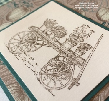 In The Garden Masculine Card French Countryside Trolley Stampin' Up! 2020 Christina Barnes Dot Dot Stamping