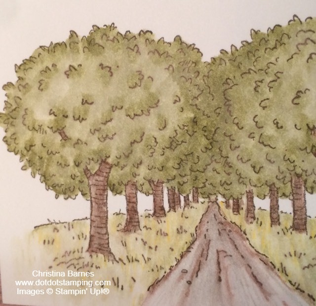 Summer Days Masculine Card Colouring July 2020