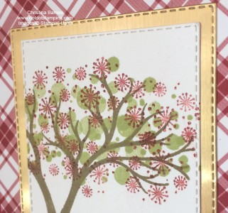 Life is Beautiful Christmas Tree Stampin' Up! Card 2020 Christina Barnes Dot Dot Stamping